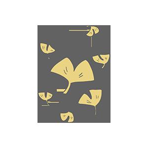 銀杏のイラスト