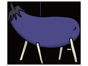 精霊牛のイラスト