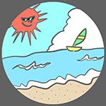 海の日のアイキャッチ