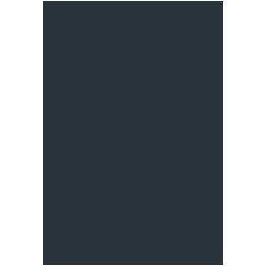 クリスマスツリーのぬりえ