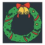 クリスマスリースのアイキャッチ