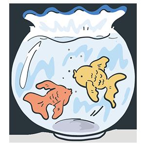 金魚の日のイラスト