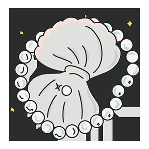 真珠の日のイラスト