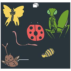虫の日のイラスト