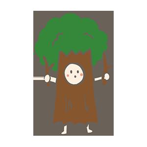 木の日のイラスト