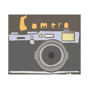 カメラの日のイラスト