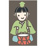 五人囃子の太鼓のアイキャッチ