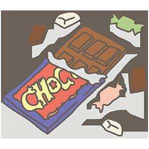 チョコレートのいらすと