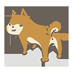犬の日のイラストe