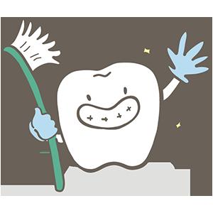 いい歯の日のイラスト