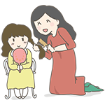 お母さんと娘のアイキャッチ