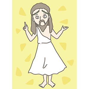 復活したキリストのイラスト
