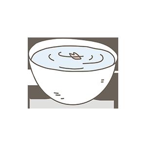 桜酒のイラスト
