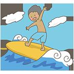 サーフィンのアイキャッチ