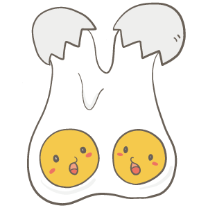 双子の日のイラスト