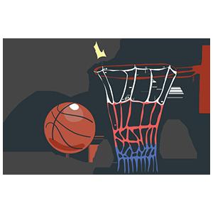 バスケットボールの日のイラスト