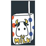 牛のイラストが描かれた牛乳パックのアイキャッチ