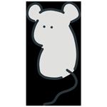 振り返るネズミのアイキャッチ
