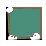 文鳥が黒板説明しているアイキャッチ