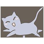 グレー色のネコのアイキャッチ