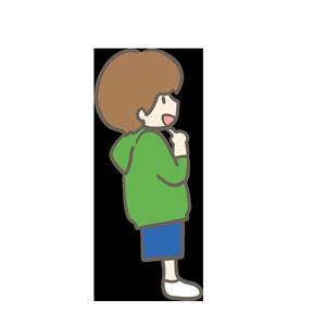 カジュアルな男の子のイラスト