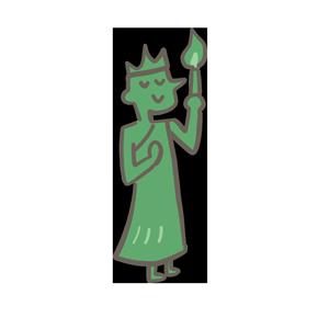 フリー素材自由の女神のイラスト Season Stock Iroha