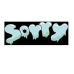 sorryの文字のアイキャッチ