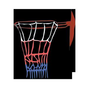 バスケットゴールのイラスト