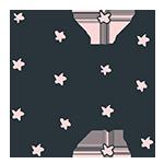 ピンクの星のアイキャッチ