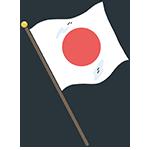 日本の国旗のアイキャッチ