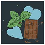 ミントとチョコレートのアイキャッチ