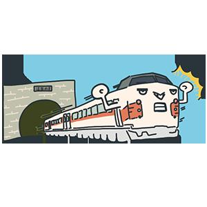 青函トンネルの日のイラスト