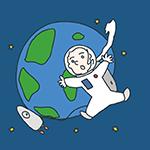 世界宇宙旅行の日のアイキャッチ