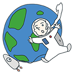 宇宙飛行士のアイキャッチ