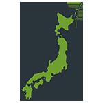 日本地図のアイキャッチ