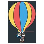 熱気球のアイキャッチ