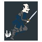 剣を持ち走り出した武士のアイキャッチ