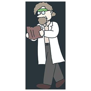 科学者のイラスト