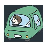 緑の車のアイキャッチ