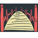 赤い橋のアイキャッチ