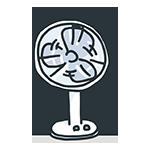 扇風機のアイキャッチ