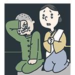 泣いている親子のアイキャッチ