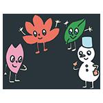 季節のキャラクターのアイキャッチ