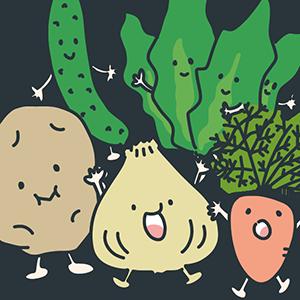 野菜の日のイラスト