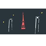 東京タワーとレインボーブリッジのアイキャッチ