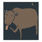 舌を出す牛のアイキャッチ