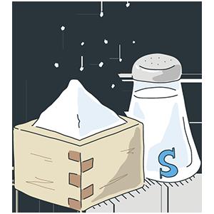 塩の日のイラスト