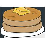 ホットケーキの日のアイキャッチ