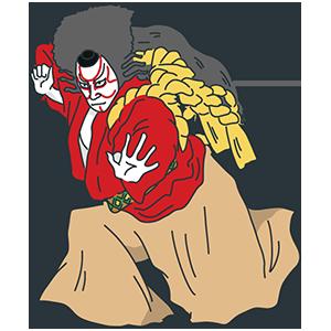 歌舞伎の日のイラスト