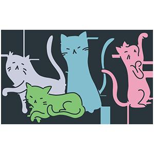 猫の日のイラスト